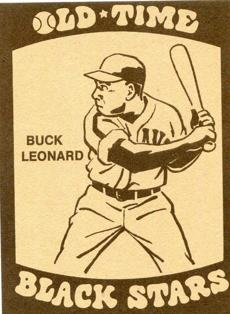 1974 Laughlin Old Time Black Stars #11 Buck Leonard