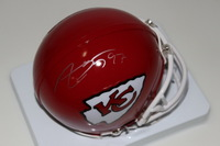 CHIEFS - ALLEN BAILEY SIGNED CHIEFS MINI HELMET