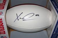 NFL - VIKINGS XAVIER RHODES SIGNED PANEL BALL