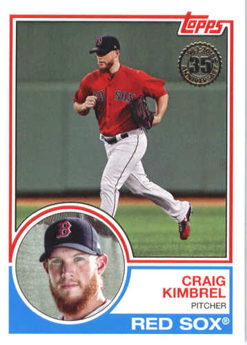 Photo of 2018 Topps '83 Topps #8371 Craig Kimbrel