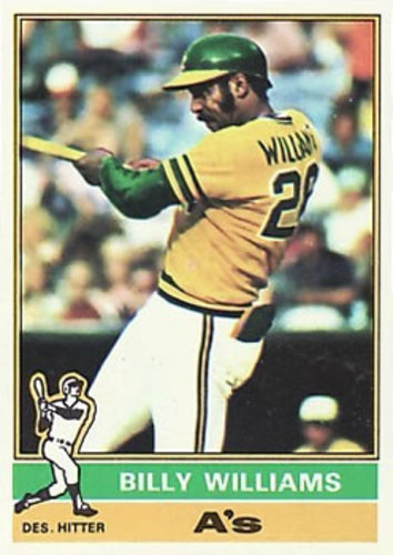 Photo of 1976 Topps #525 Billy Williams -- Hall of Fame Class of 1987