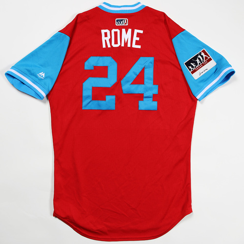 """Photo of Roman """"Rome"""" Quinn Philadelphia Phillies Game-Used Jersey 2018 Players' Weekend Jersey"""