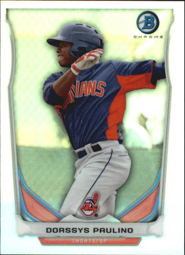 Photo of 2014 Bowman Chrome Bowman Scout Top 5 Mini Refractors #BMCI4 Dorssys Paulino