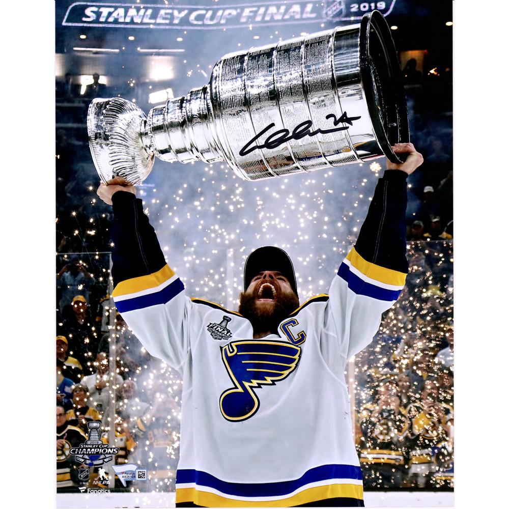 Alex Pietrangelo St. Louis Blues 2019 Stanley Cup Champions Autographed 11