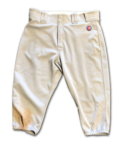 Photo of Kyle Schwarber Team-Issued Pants -- Size 36-41-19 -- 2019 Season