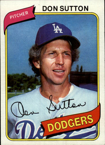 Photo of 1980 Topps #440 Don Sutton