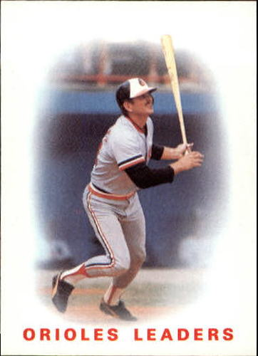 Photo of 1986 Topps #726 Orioles Leaders/Rick Dempsey