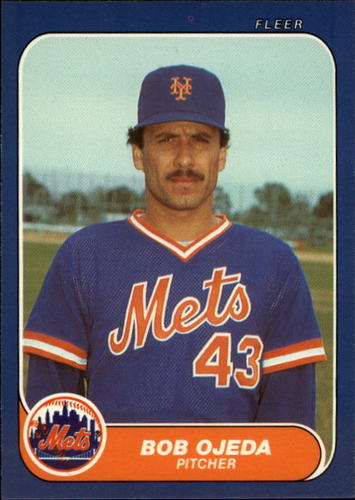 Photo of 1986 Fleer Update #84 Bob Ojeda