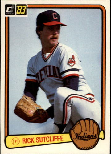 Photo of 1983 Donruss #72 Rick Sutcliffe