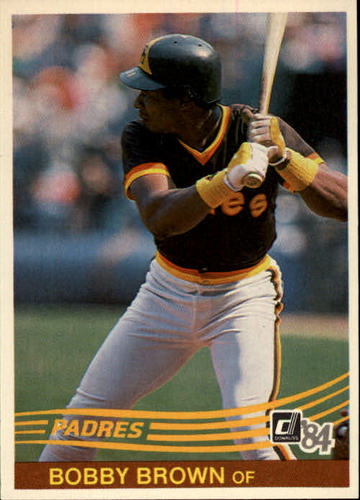 Photo of 1984 Donruss #478 Bobby Brown