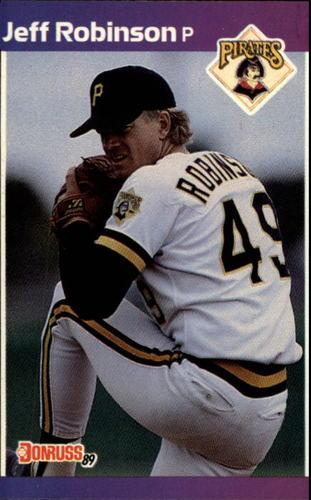 Photo of 1989 Donruss #370 Jeff D. Robinson