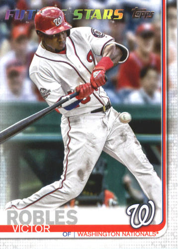 Photo of 2019 Topps #402 Victor Robles FS
