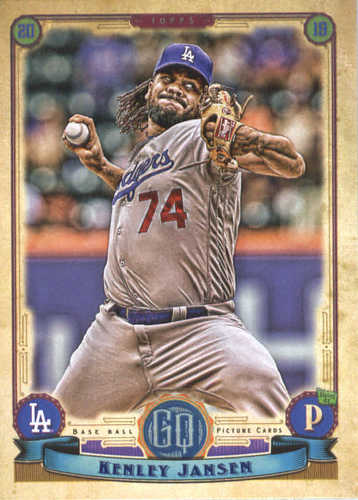 Photo of 2019 Topps Gypsy Queen #286 Kenley Jansen
