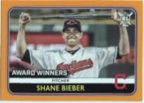 Photo of 2020 Topps Big League Orange #273 Shane Bieber AW