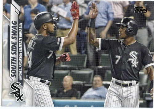 Photo of 2020 Topps #569 South Side Swag/Eloy Jimenez/Tim Anderson