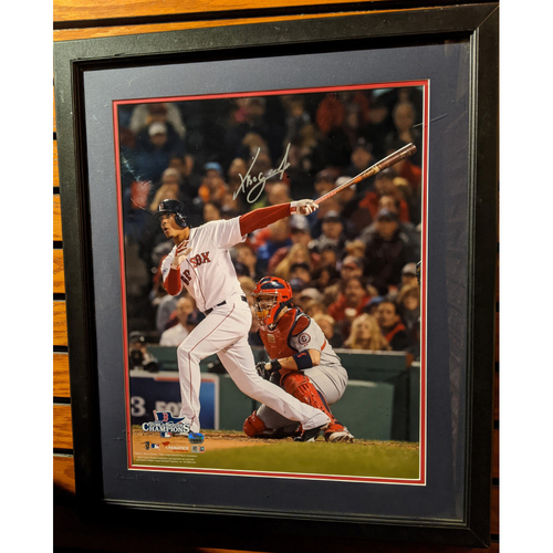 Xander Bogaerts Autographed Framed Photo