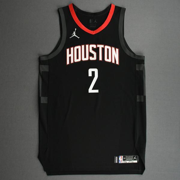 Image of David Nwaba - Houston Rockets - Kia NBA Tip-Off 2020 - Game-Worn Statement Edition Jersey