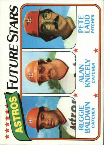 Photo of 1980 Topps #678 Reggie Baldwin RC/Alan Knicely RC/Pete Ladd RC