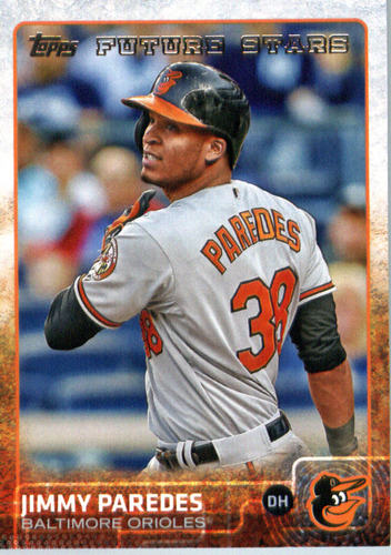 Photo of 2015 Topps Update #US181 Jimmy Paredes FS
