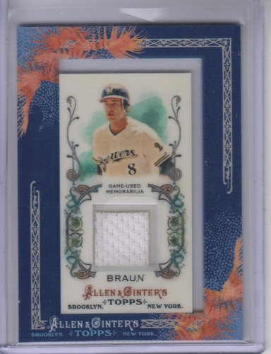 Photo of 2011 Topps Allen and Ginter Relics #RB2 Ryan Braun Jsy
