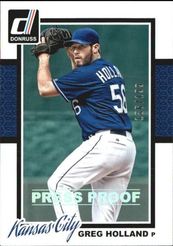 Photo of 2014 Donruss Press Proofs Silver #297 Greg Holland