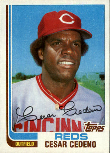 Photo of 1982 Topps Traded #19T Cesar Cedeno