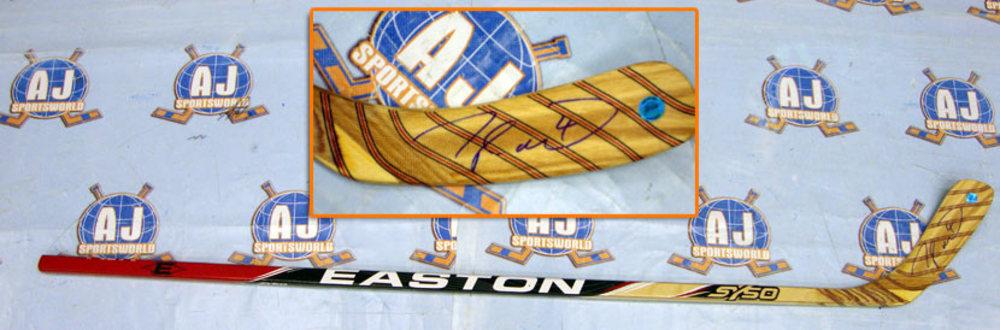 TAYLOR HALL Autographed Easton SY50 EDM Model Hockey Stick - Edmonton Oilers