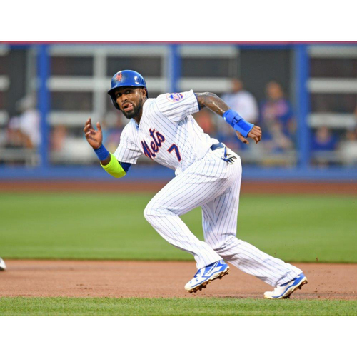 Amazin' Auction: José Reyes Autographed Cleats - Lot # 11