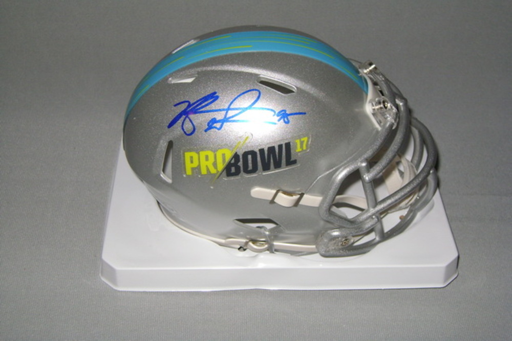 NFL - BILLS KYLE WILLIAMS SIGNED 2017 PRO BOWL MINI HELMET