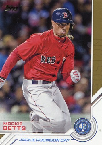 Photo of 2017 Topps Jackie Robinson Day #JRD3 Mookie Betts