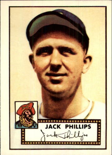 Photo of 1983 Topps 1952 Reprint #240 Jack Phillips
