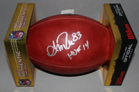 HOF - BILLS ANDRE REED SIGNED AUTHENTIC FOOTBALL