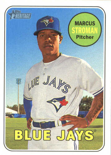 Photo of 2018 Topps Heritage #249 Marcus Stroman