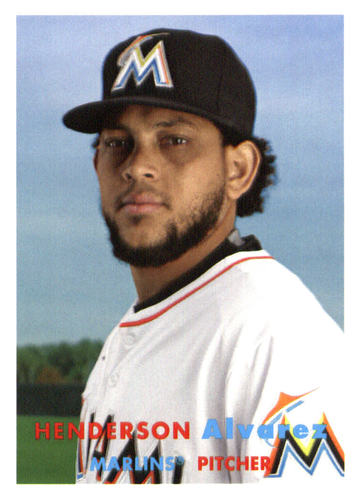 Photo of 2015 Topps Archives #47 Henderson Alvarez