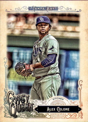 Photo of 2017 Topps Gypsy Queen #278 Alex Colome