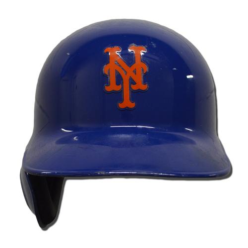 Photo of Jay Bruce #19 - Game Used Batting Helmet - Mets vs. Marlins - 9/30/18