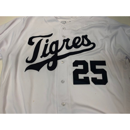 Photo of Game-Used Fiesta Tigres Jersey: Dave Clark