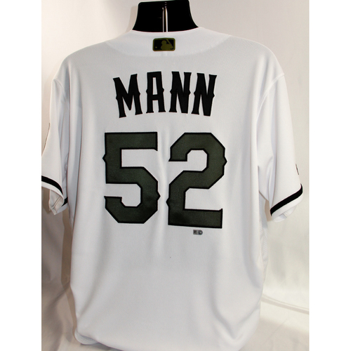 Photo of Team-Issued Home Memorial Day Jersey - Brandon Mann - 5/27/18