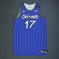 Jonathon Simmons - Orlando Magic - Game-Worn Classic Edition 1994-98 Alternate Road Jersey - Worn in 5 Games - 2018-19 Season