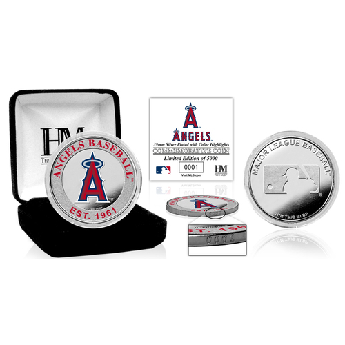 Photo of Serial #1! Los Angeles Angels Silver Color Coin