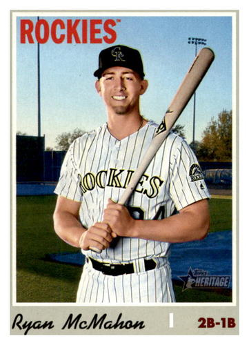 Photo of 2019 Topps Heritage #649 Ryan McMahon