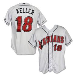 Photo of #18 Mitch Keller Game Worn Home White Jersey
