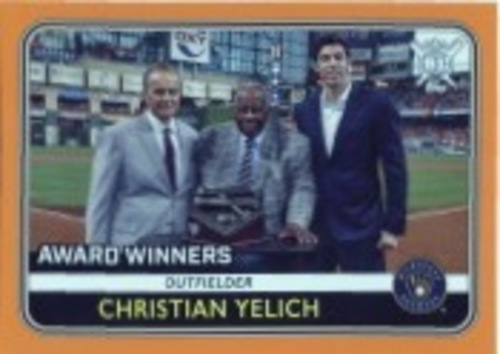 Photo of 2020 Topps Big League Orange #275 Christian Yelich AW