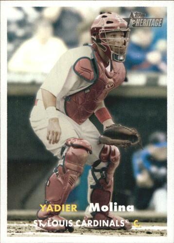 Photo of 2006 Topps Heritage #177 Yadier Molina