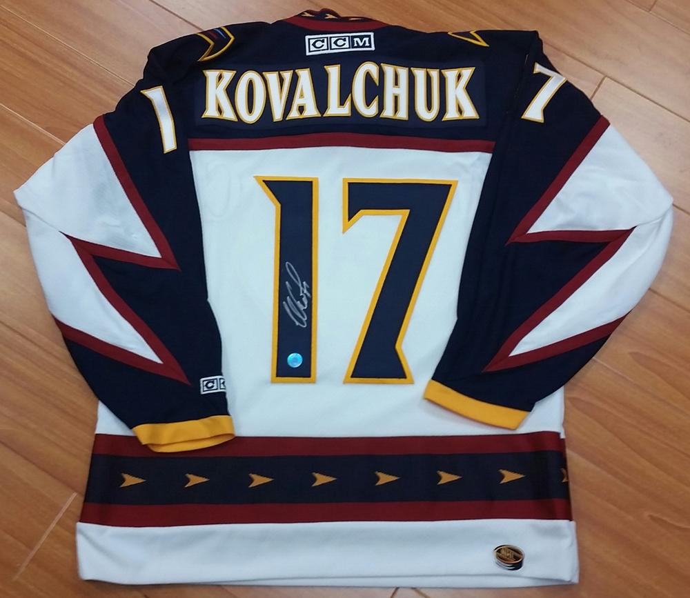 ILYA KOVALCHUK Autographed Atlanta Thrashers CCM Retro Hockey Jersey ... 5ab11d77c