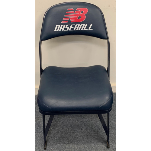 Photo of Shohei Ohtani May 14, 2021 Game Used Locker Room Chair