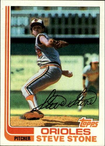 Photo of 1982 Topps #419 Steve Stone