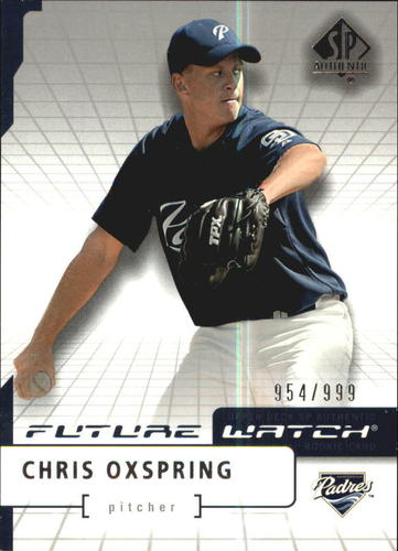 Photo of 2004 SP Authentic #184 Chris Oxspring FW RC