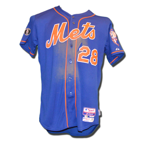 hot sales 8336a 2f20e MLB Auctions | Daniel Murphy #28 - Game Used Blue Alt. Home ...