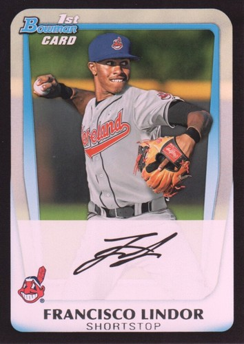 Photo of 2011 Bowman Draft Prospects #BDPP53 Francisco Lindor Pre-Rookie Card